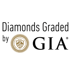 GIA Diamond F SI1 0.59 ct.