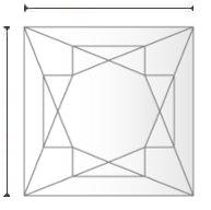 GIA Diamond H VS1 3.09 ct.
